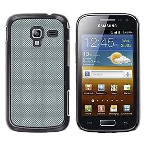 LECELL--Funda protectora / Cubierta / Piel For Samsung Galaxy Ace 2 -- GRIS Modelo de puntos --