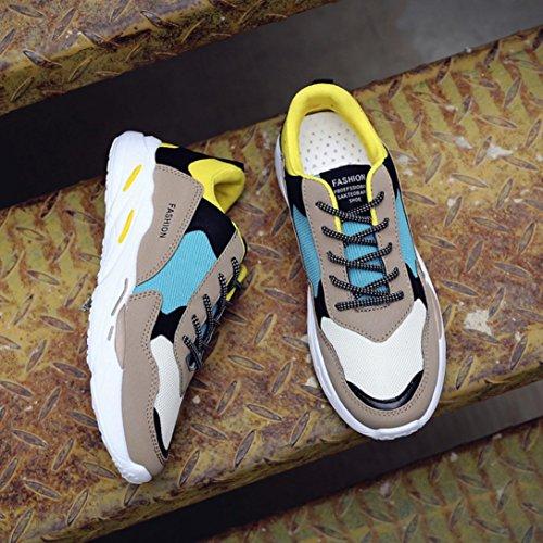 43 Scarpe da Retro Uomo Ginnastica Oro Lightweight Asia Basse UOMOGO Sneaker qaZtPwFa