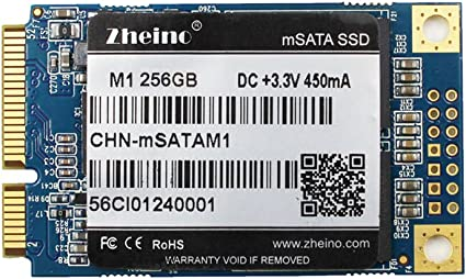 Zheino M1 mSATA SSD 256GB (30 * 50 mm) 2D MLC Interno Disco Duro ...