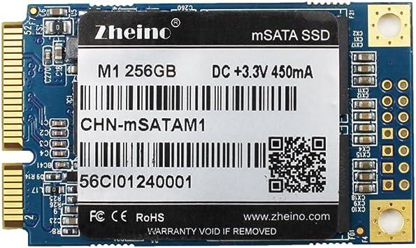Zheino M1 mSATA SSD 256GB (30 * 50 mm) 2D MLC Interno Disco ...