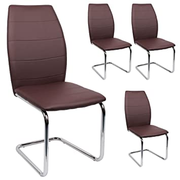 Stühle Modern svita esszimmerstuhl 4er set stühle modern freischwinger