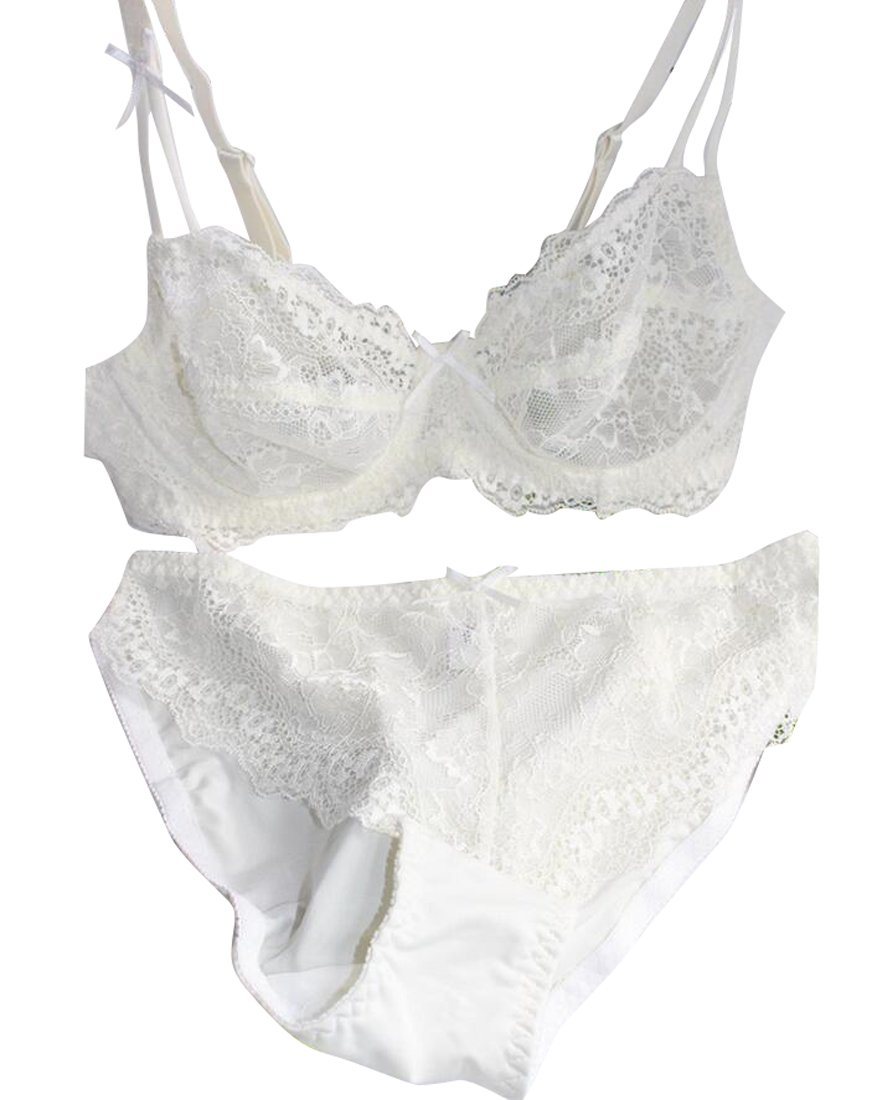 Nanquan-women clothes BRA レディース B075Z9P83N 80A|ベージュ ベージュ 80A