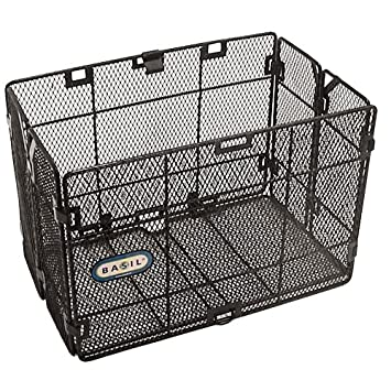 Basil Catania Rear Folding Mesh Basket Single