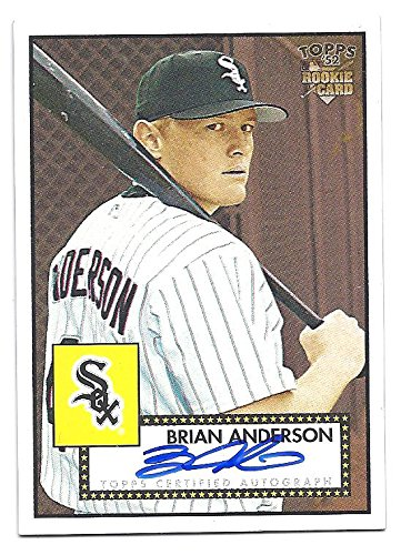 BRIAN ANDERSON 2006 Topps '52 Signatures #BA AUTOGRAPH Rookie Card RC Chicago White Sox Baseball