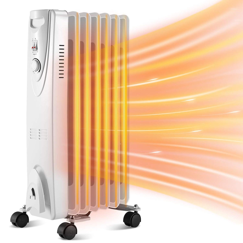 Kismile Oil Filled Electric Radiator Heater