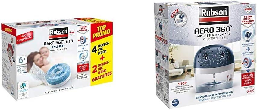 Deshumidificateur Air Maison Absorbeur Humidité Anti Odeurs Pieces 20 m² 450 g