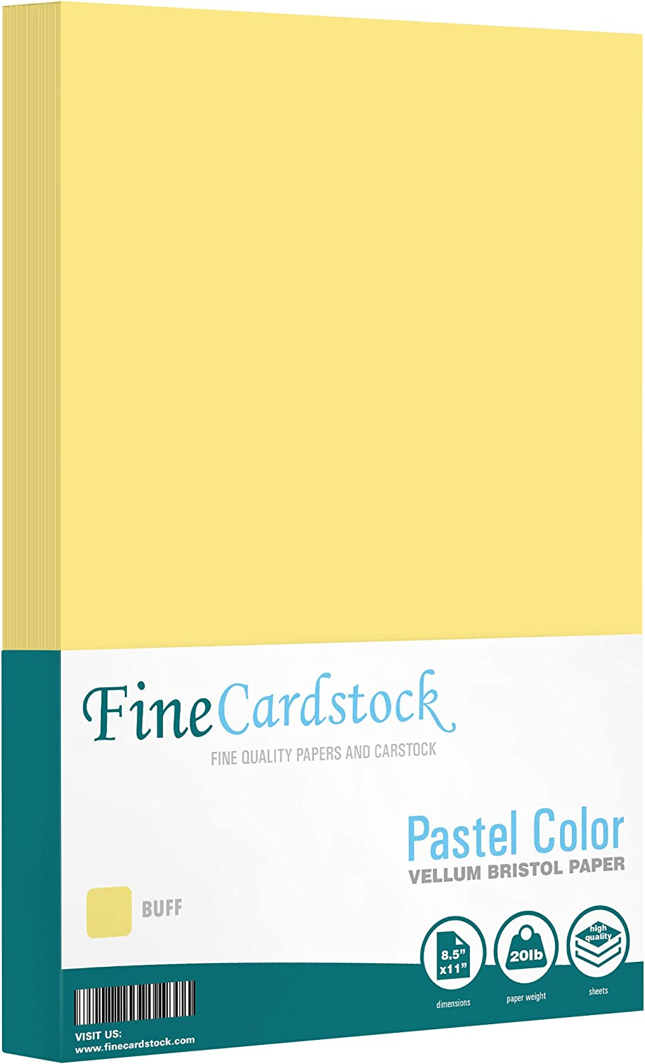 """Lightweight 20lb Paper Blue Great for Cards and Stationery Printing Menu Size Legal 100 Sheets 8.5 x 14/"""" Pastel Color Paper"""
