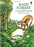 img - for Rain Forest Coloring Book book / textbook / text book