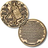 Armor of God High Relief Ephesians 6:11-13 Challenge Coin