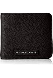 A X Armani Exchange Pebble PU Medium Wallet