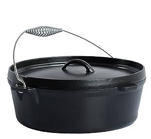 KamadoJoe KJ-DO Cast Iron Dutch Oven