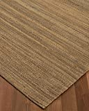 NaturalAreaRugs Denver Collection Jute/Hemp Area Rug, Handmade, 100% Hemp, Cotton Backing, Durable, Elegant, Stain Resistant, Eco/Environment-Friendly, (8 Feet x 10 Feet) Beige Color