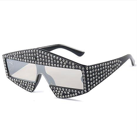 YANKAN Lentes de Gafas de Sol Mujer-Ladrillo Gafas de Sol UV ...