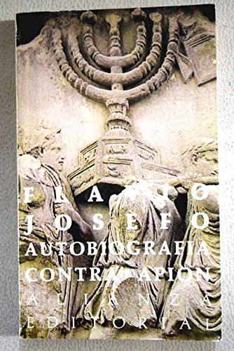 Autobiografía ; Sobre la antigüedad de los judíos (Contra Apión)