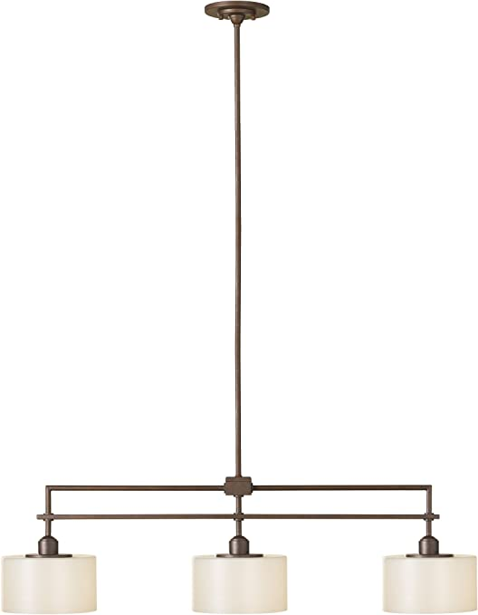 Sea Gull Lighting F2402 3cb Sunset Drive Three Light Island Chandelier Corinthian Bronze Ceiling Pendant Fixtures