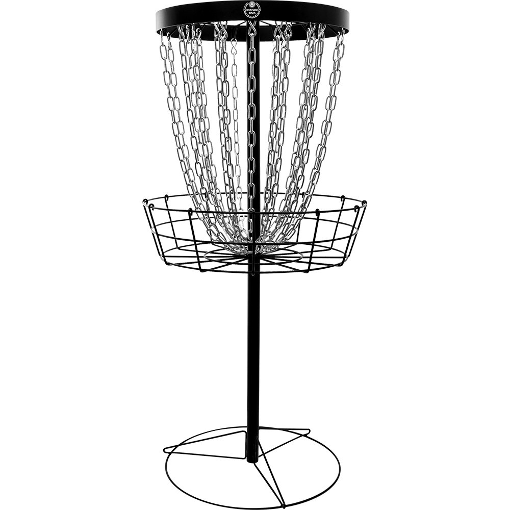 Westside Golf Discs Weekend 24 Chain Portable Disc Golf Basket Target by Westside Golf Discs