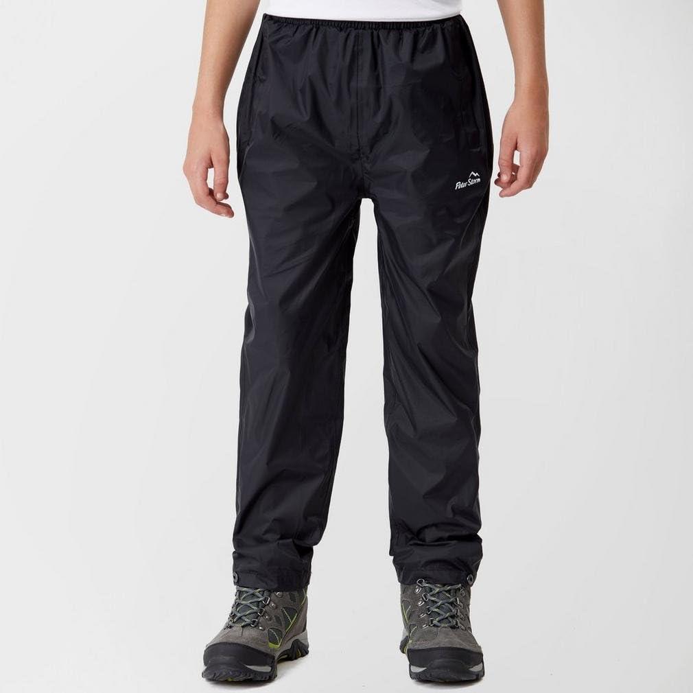 Black 13 Years Peter Storm Kids Packable Pants