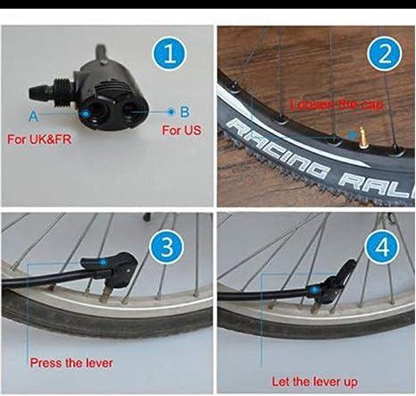 Moliies 2PCS + Set Bicicleta Bicicleta Ciclo Neumático Tubo ...