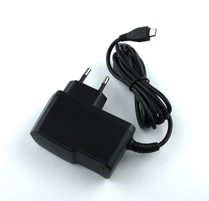 BA5I5 - Cargador de batería (230 V, 2000 mA - 2 A para Sony Z1, Z2 ...