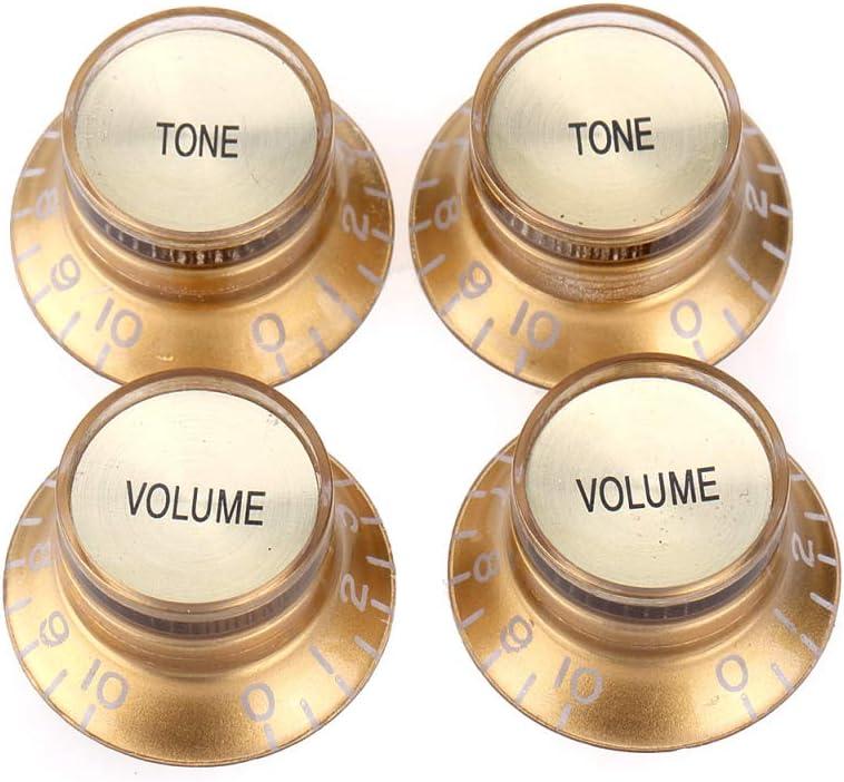Musiclily Pro Tamaño Métrico 18 Splines Botones de Potenciómetros ...