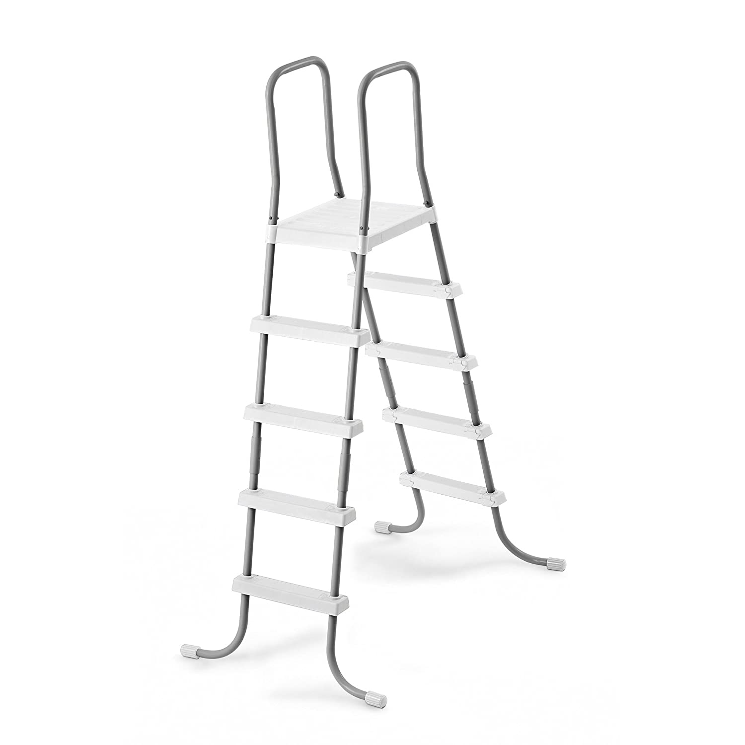 Intex Double-Sided Steel Pool Ladder for 52-Inch Above Ground Pools 28059E