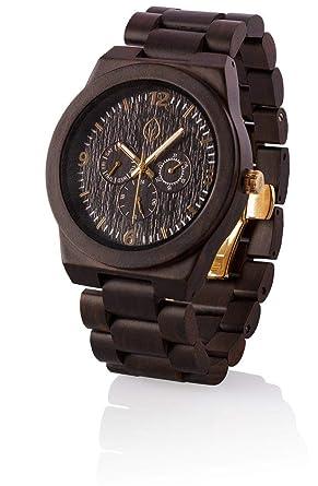 Madera Reloj Personalizado Madera Reloj Groomsmen Regalo ...
