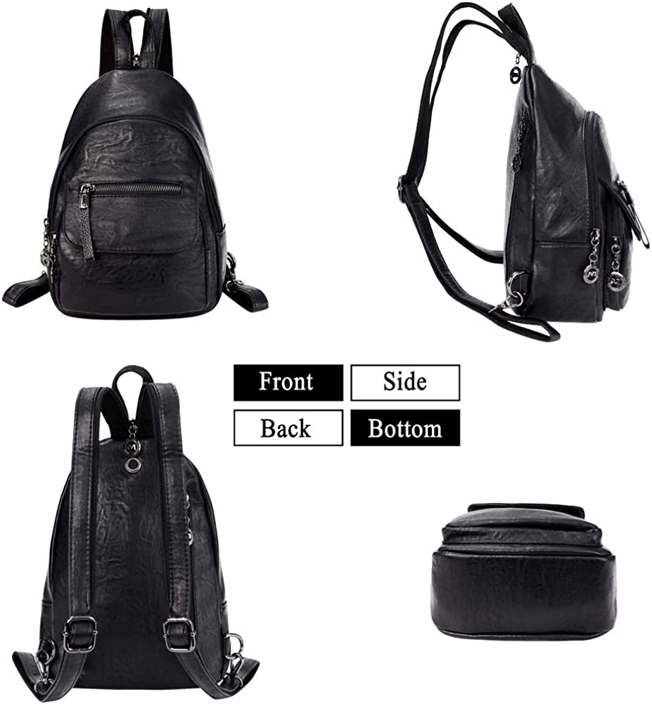 Austin Women Specially High Density Shoulder Bags Thick Backpack Travel School Wallet