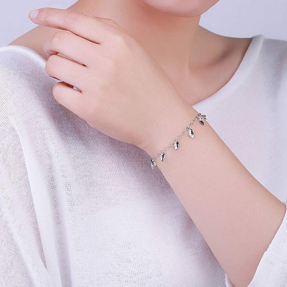 Aoxishiye Elegants Womens Bracelets Womens Western Fashion Fashion Plating Bracelet S925 Silver Hand Jewelry Wild Personality Temperament Female Bracelet Exotic Bracelet