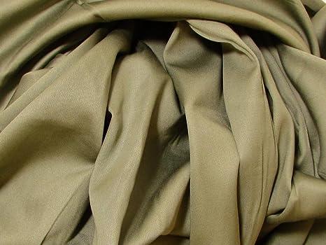 Algodón orgánico tela de satén, 300 hilos, 113 cm de ancho – Natural – por el patio: Amazon.es: Juguetes y juegos