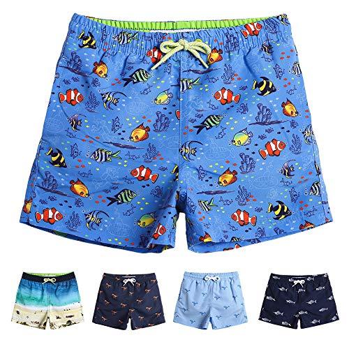 Fish Trunks - MaaMgic Boys 7T Swim Trunks Toddler Swim Shorts Little Boys Bathing Suit Swimsuit Toddler Boy Swimwear