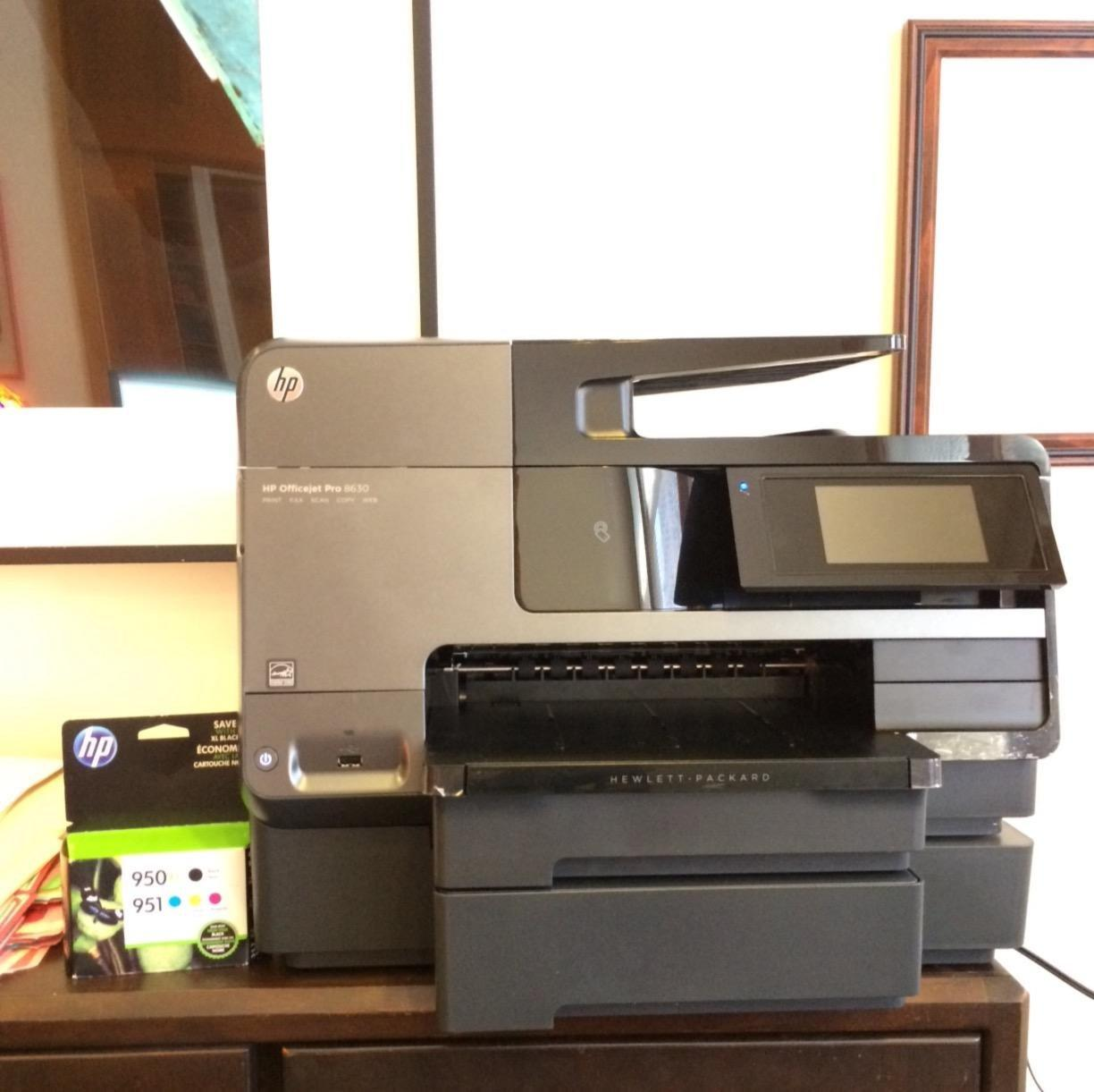 HP OfficeJet Pro 8630 All-in-One Wireless Printer with Mobile