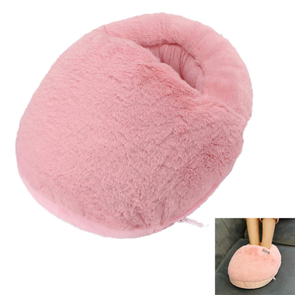 Electric Heated Cushion Lady Warm for Leg Hands and Feet Super Soft Detachable Washable Adjustable Temperature Control Portable Home Office Use