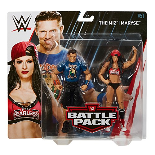 WWE Series # 51 the Miz & Maryse, 2 Pack Action Figure by WWE