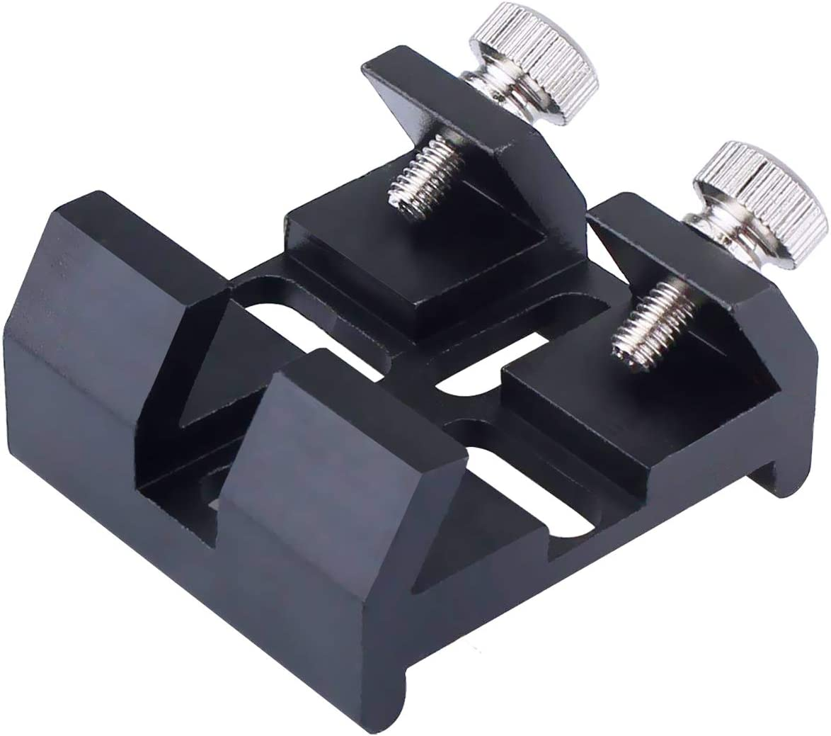 Universal Dovetail Base for Finder Scope - Ideal for Installation of Finder Scope, Green Laser Pointer Bracket Etc - for Sky-Watcher Vixen and Some Celestron Telescope Dovetail Accessories