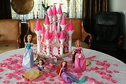 Amazon Com Wilton 301 910 Romantic Castle Cake Set