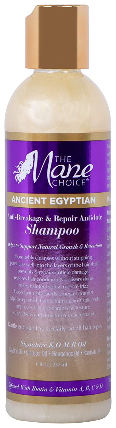 THE MANE CHOICE Ancient Egyptian Anti-Breakage & Repair Antidote Shampoo - Hydrates and Strengthens Your Hair While Promoting Growth and Retention (8 Ounces / 236 Milliliters)