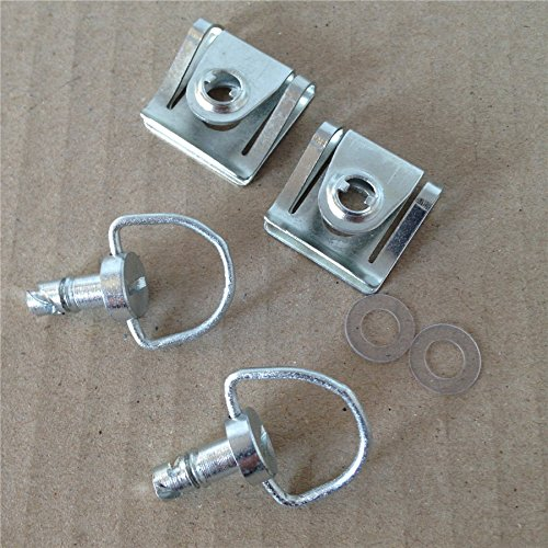 Motorcycle Quick Release D-Ring Turn Race Fairing Fastener For Ktm Ducati Chrome