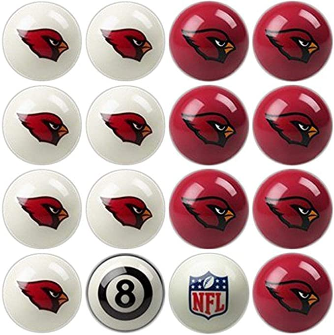Complete 16 Ball Set Imperial Officially Licensed NCAA Home vs Away Team Billiard//Pool Balls