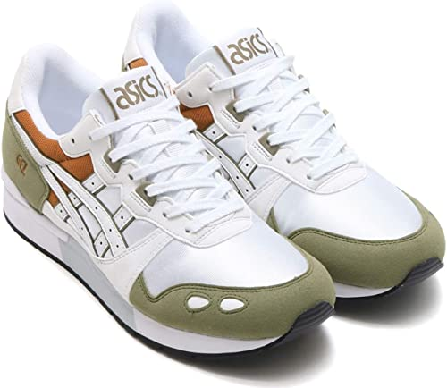 ASICS Gel Lyte White Olive Brown: : Schuhe
