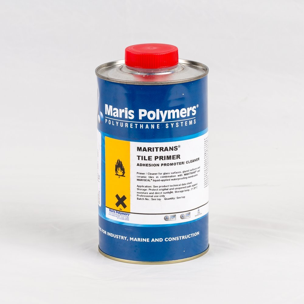 Transparent maritrans tile primer 1kg one component adhesion transparent maritrans tile primer 1kg one component adhesion promotercleaner for glazed ceramic tiles or glass amazon diy tools dailygadgetfo Image collections