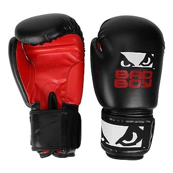1f46df98d Luva de Boxe muay Thai Treino Bad Boy 12 Oz - Preto+vermelho - Único ...