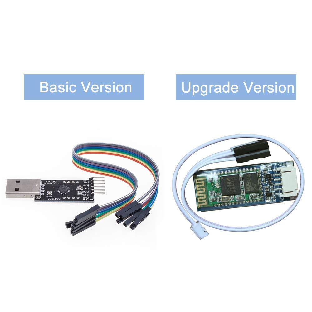 KEDSUM HC-06 Serial Slave Module, Wireless RF Transceiver Module with on