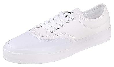7fea31068643 Converse Men s Crimson Canvas Ox White Black Natural Tennis Court Shoes  153466C (13