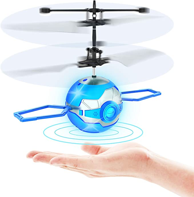 Interactive Infrared Inducti Hand-Operated Flying Ball Lnkoo Flying Toys Drone