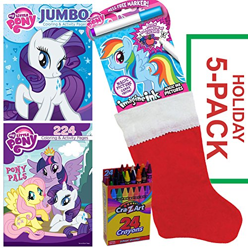 My Little Pony Stocking Stuffer Bundle - My Little Pony 5 PACK - Christmas Gift for Children Ages 3-8