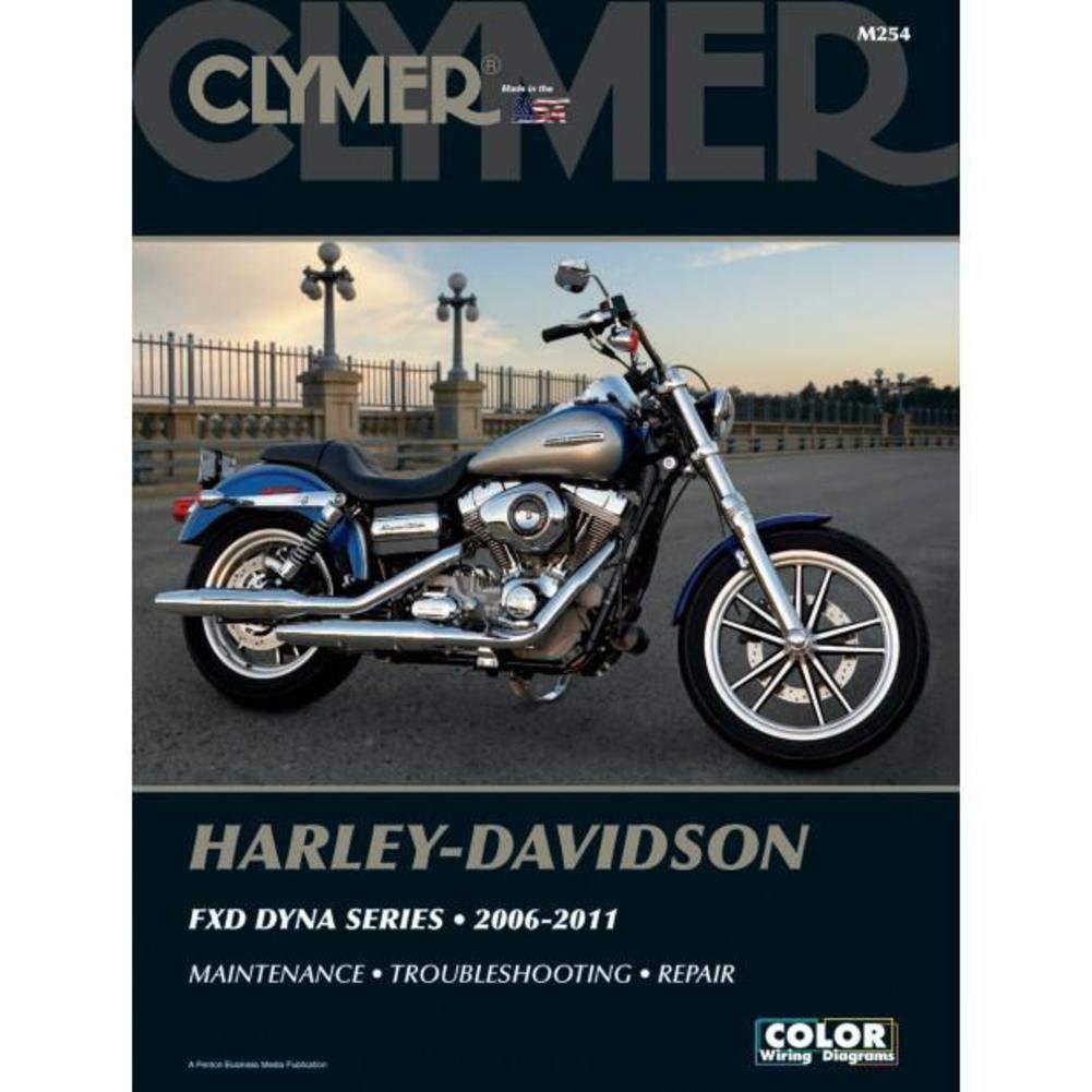 amazon com clymer harley davidson fxd dyna series 2006 2011 rh amazon com