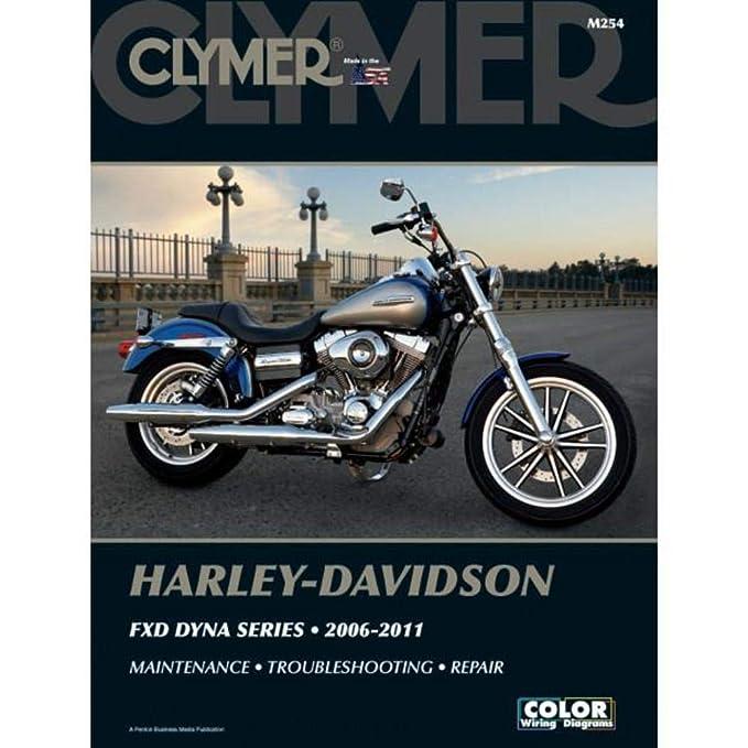 Amazon.com: Clymer Harley-Davidson FXD Dyna Series (2006-2011 ...