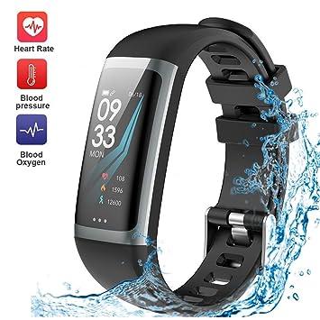 Schlaf Smart Herzfrequenz Watch Fitness Wasserdichte Cimic Tracker KFJlTc31