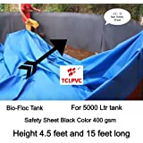 Buy TCLPVC Lab Made Rubber PVC 500 GSM 18/40 feet Pond and
