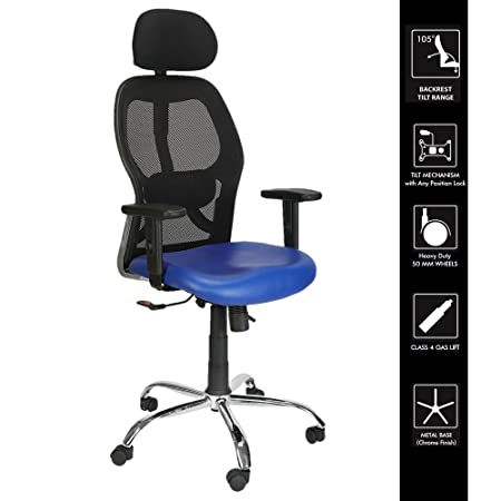 Green Soul NewYork High-Back Office Chair (Blue)